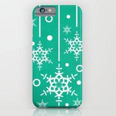 Let it Snow...(Emerald) iPhone 6 Slim Case