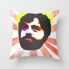 Zach Galifianakis Died for our Sins Throw Pillow
