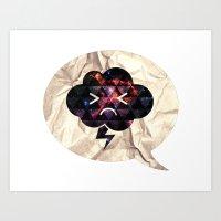 Cloudlet Mood Art Print