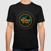 The Mighty Souls: Reggae… Mens Fitted Tee Tri-Black SMALL