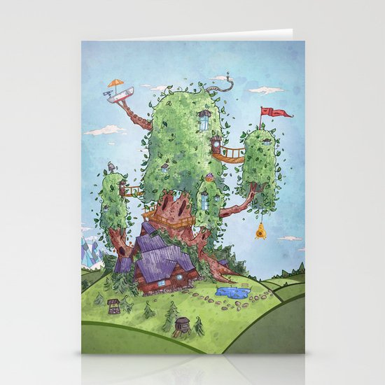 Ode to Finn and Jake Stationery Card