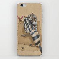 ZEBRA MAMA  iPhone & iPod Skin