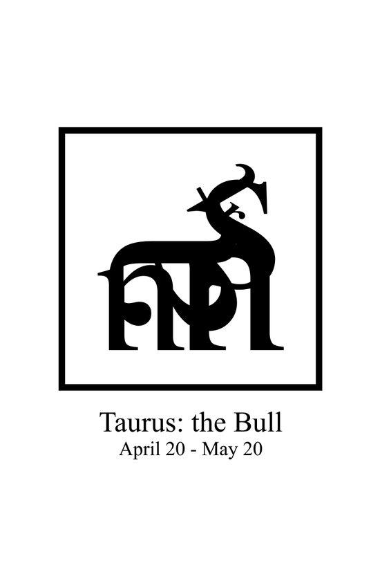 Taurus: the Bull Art Print