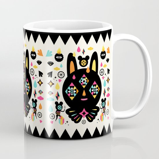 Rainbow Bunny Mug