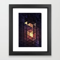 SYSTYM Z Framed Art Print