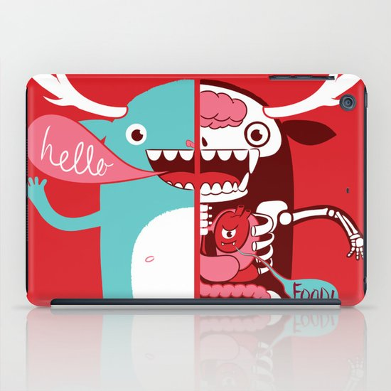All monsters are the same! iPad Case