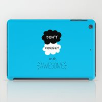 DFTBA TFIOS Nerdfighter Vlogbrothers Don't Forget to be Awesome, The Fault in Our Stars, John Green iPad Case