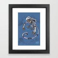 Astro Zodiac Force 09: Monkey Framed Art Print
