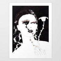 Portrait 35 Art Print