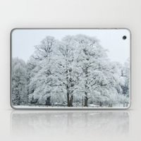 Frozen and Frosted Trees Laptop & iPad Skin