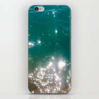 The Color Of The Sea iPhone & iPod Skin