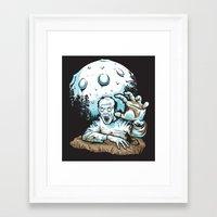 Z! Framed Art Print