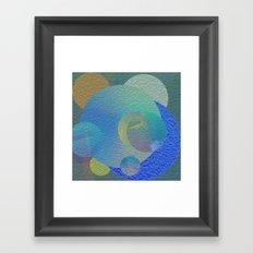 Relative Density Framed Art Print