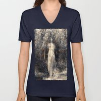 In The Arms Of Nature Unisex V-Neck