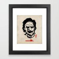 Butcher Framed Art Print