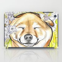 Jay Jay the happy Shiba iPad Case