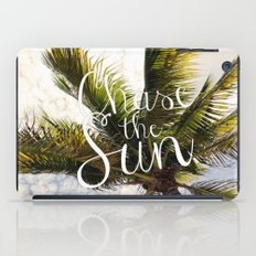 CHASE THE SUN QUOTE iPad Case