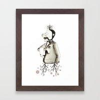 kissable Framed Art Print