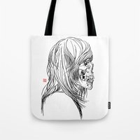 A Song About Rock N' Roll/A Song About Death Tote Bag