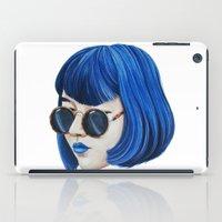 Blue iPad Case