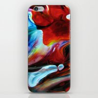 Rainbow Nebula iPhone & iPod Skin