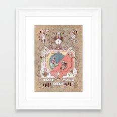 Nothing is Guaranteed (Nada Está Garantido) Framed Art Print
