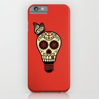 iPhone & iPod Case featuring Noche de los Muertos - Rojo by John Tibbott