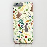 Rabbits In The Garden iPhone 6 Slim Case