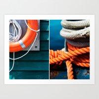 Nautica  Art Print