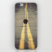 Walk the Line iPhone & iPod Skin