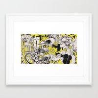 Confession Framed Art Print