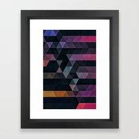 Ypsyde Dwwnsyde Framed Art Print