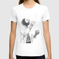 Virus Womens Fitted Tee White SMALL