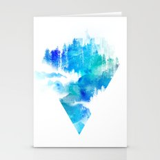 Escape from town Stationery Cards