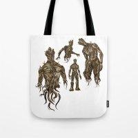 I AM [badass] GROOT Tote Bag