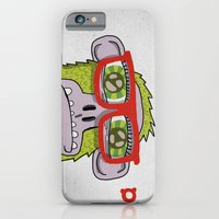 iPhone & iPod Case featuring 005_monkey glasses by teddyBOY
