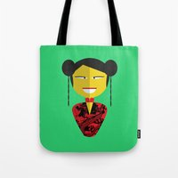 Chinese Doll Tote Bag