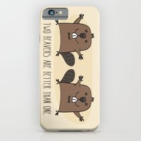 Two Beavers Are Better Than One iPhone 6 Slim Case