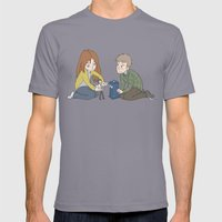 The Girl Who Waited, The Boy Who Waited, and Their Raggedy Doctor Mens Fitted Tee Slate SMALL