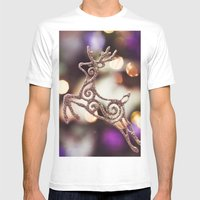 Some magic Mens Fitted Tee White SMALL