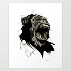 Primate Art Print