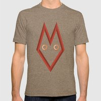 The Fox Mens Fitted Tee Tri-Coffee SMALL