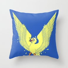 Spread Your Wings! Throw Pillow