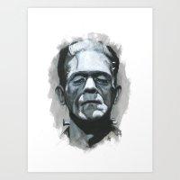 Homage Art Print