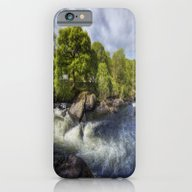 iPhone & iPod Case featuring Rushing River by Ian Mitchell