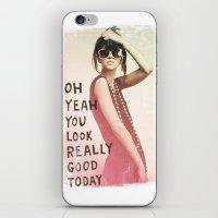 LOOK GOOD iPhone & iPod Skin