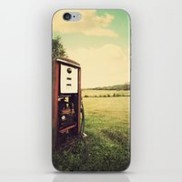 The Old Gas Pump iPhone & iPod Skin