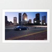BMW E28 528i Art Print