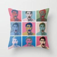 Van Warhol Throw Pillow
