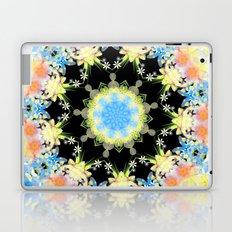 Kaleidoscope 'Twisted Flower' Laptop & iPad Skin